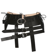 Tom Ford Leather Waist Belt Black