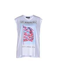 Each X Other Tank Tops White