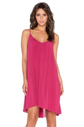Velvet By Graham And Spencer Danacia Rayon Challis Dress Pink
