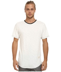 Kinetix Standard Long Fashion Tee White Men's T Shirt