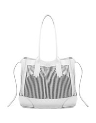 Linea Pelle Preston Leather Tote Bone