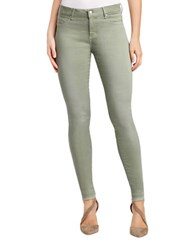 Jessica Simpson Kiss Me Five Pocket Style Pants Green