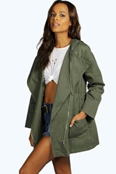 Holly Utility Biker Jacket