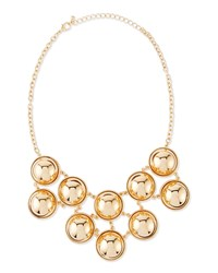 Jules Smith Designs Jules Smith Ball Bib Necklace Yellow Gold