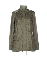 Dekker Coats And Jackets Full Length Jackets Women Military Green