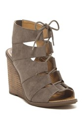 Melrose And Market Calita Fab Wedge Sandal Wide Width Available Beige