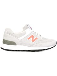 New Balance Lateral Logo Sneakers Grey