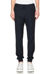 Marc Jacobs Sable Suiting Trousers In Blue