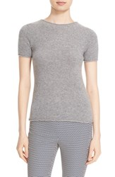 Theory Women's 'Tolleree' Short Sleeve Cashmere Pullover Husky