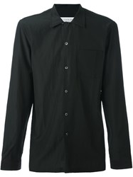 Maison Martin Margiela Classic Long Sleeve Shirt Black