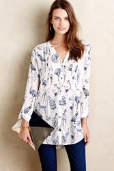 Maeve Forest Fauna Tunic Black And White