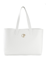 Versace Collection Shopping Tote White