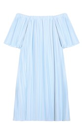Adam By Adam Lippes Off Shoulder Tunic Blue