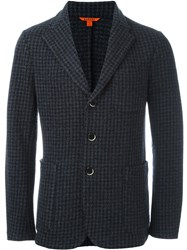 Barena Tweed Blazer Blue