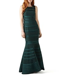 Phase Eight Shannon Tiered Gown Emerald