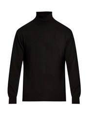 Raey Roll Neck Cashmere Sweater Black