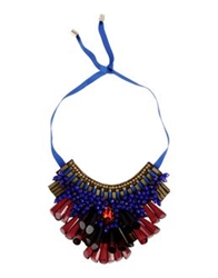 Matthew Williamson Necklaces Maroon