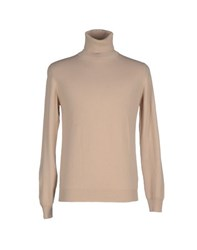 Alpha Massimo Rebecchi Knitwear Turtlenecks Men Beige