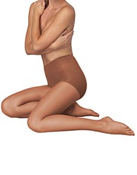 Hanes Silk Reflections Lasting Sheer Control Top No Run Technology Barely There