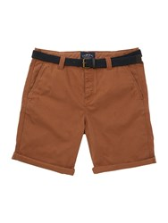 Criminal Travis Cotton Chino Shorts Camel