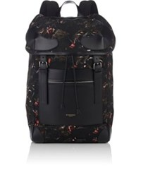 Givenchy Men's Rider Monkey Print Backpack Black