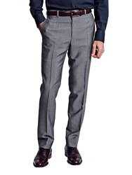 Thomas Pink Harford Wool Trousers Black White