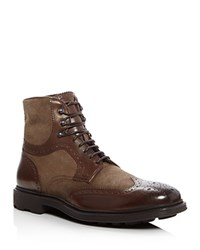 To Boot New York Hobson Wingtip Boots Brown