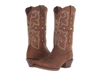 Durango Crush Cross Strap Tan Women's Boots