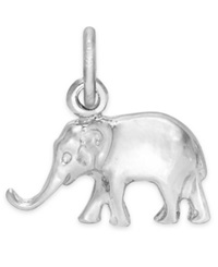 Rembrandt Charms Sterling Silver Elephant Charm