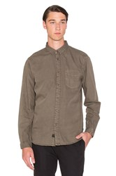 Globe Goodstock Vintage Button Down Brown