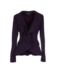 Gio' Guerreri Suits And Jackets Blazers Women Deep Purple