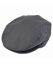 Dents Mens Wax Cotton Flat Cap Navy
