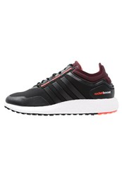 Adidas Performance Climaheat Rocket Boost Cushioned Running Shoes Core Black Maroon