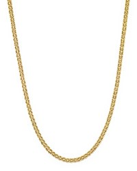 Bloomingdale's 14K Yellow Gold Double Row Light Rope Necklace 18