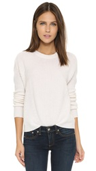 Bop Basics Boxy Cashmere Sweater Chalk