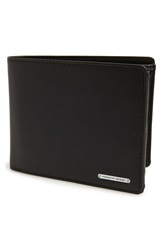 Porsche Design 'Cl2 2.0' Leather Bifold Wallet Black