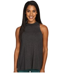 Alo Yoga Crest Tank Top Charcoal Heather Women's Sleeveless Gray