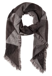 Evenandodd Scarf Black Grey White