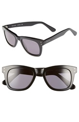 Komono 'Allen' 51Mm Sunglasses Glossy Black Smoke