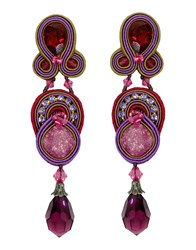 Dori Csengeri Jewellery Earrings Women Purple