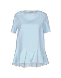 Viktor And Rolf Shirts Blouses Women Sky Blue