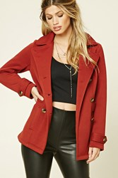 Forever 21 Double Breasted Coat