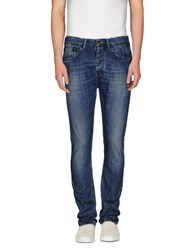 Daniele Alessandrini Denim Denim Trousers Men Blue