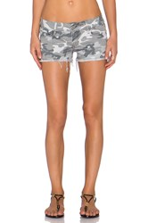 Black Orchid Lola Cut Off Short Gray
