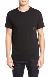 Rvca Men's Letterpress Graphic Pocket T Shirt