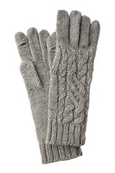 Polo Ralph Lauren Gloves With Wool And Alpaca Grey