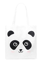 Forever 21 Panda Face Graphic Eco Tote