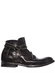 Shoto Wrinkled Leather Boots