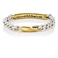 Giles And Brother Women's Id Bracelet Silver