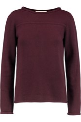 Goat Anya Cashmere Sweater Purple